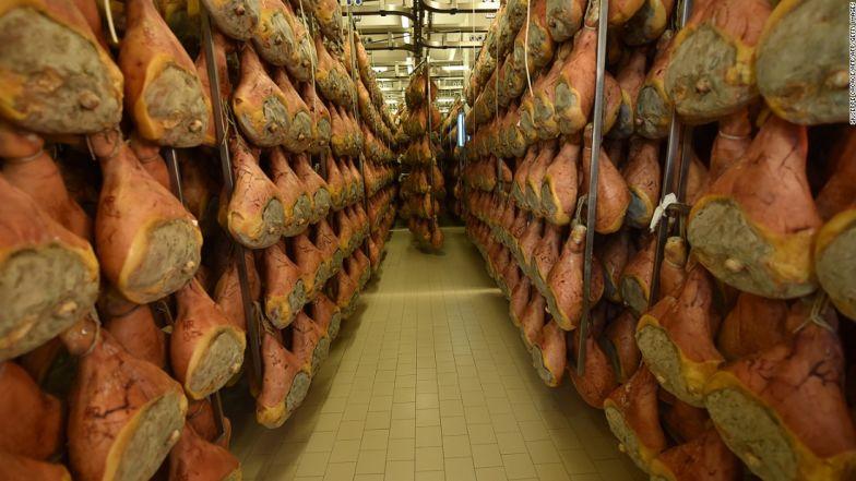 Thịt giăm bông Parma, Ý