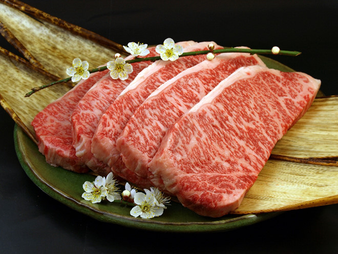 Bò bít tết Ohmi-gyu, Nhật Bản