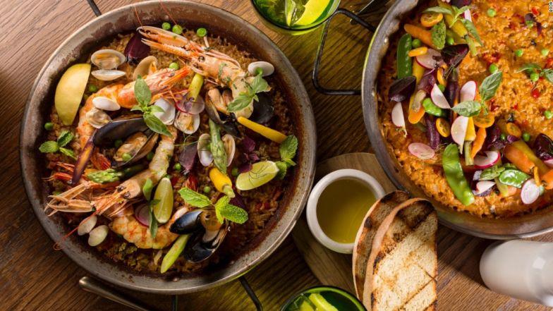 Cơm thập cẩm paella, Tây Ban Nha