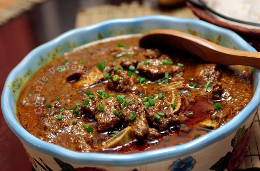 Bò Rendang, Malaysia