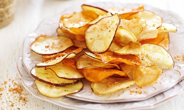 Snack khoai tây, Mỹ