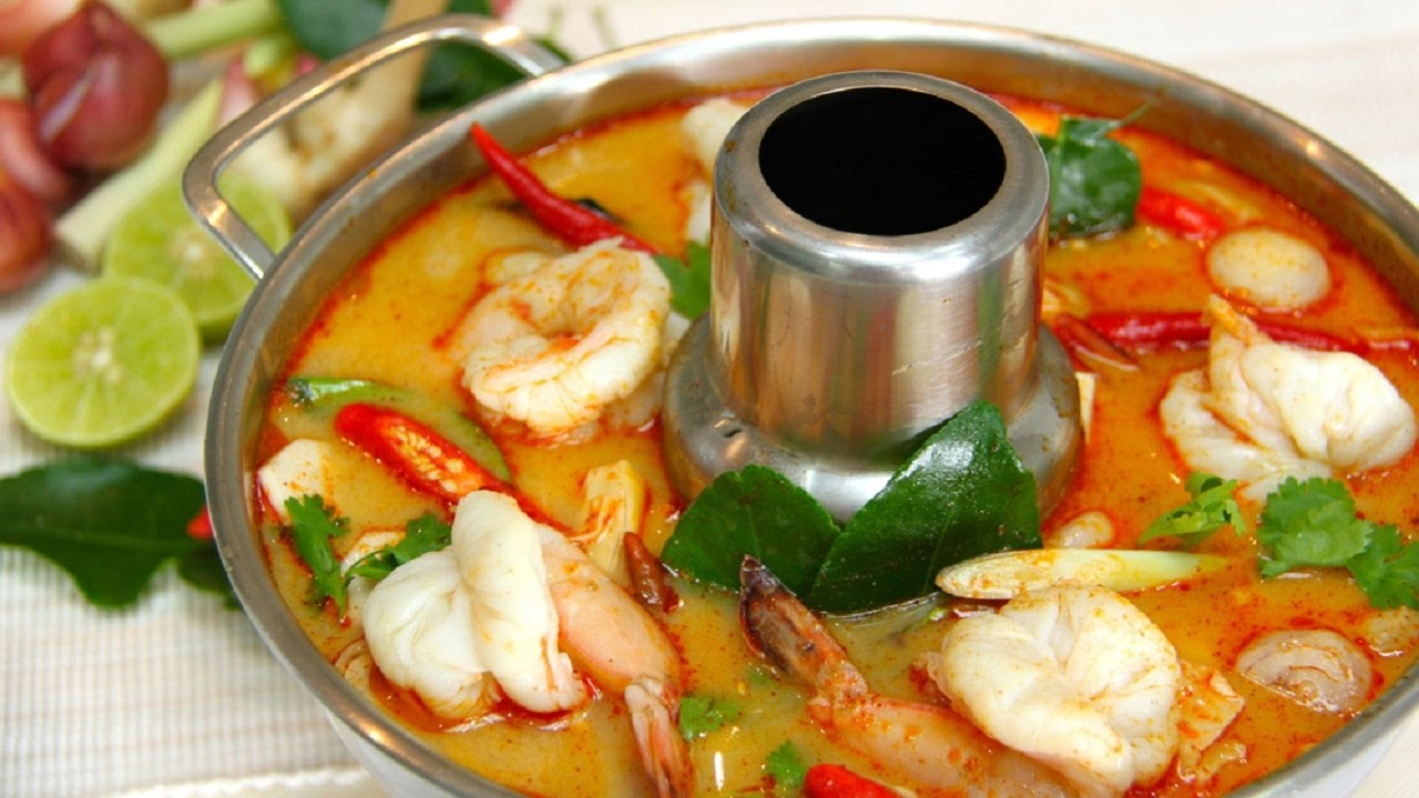 Tom yum goong, Thái Lan