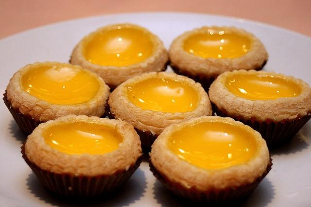 Bánh trứng, Hồng Kông