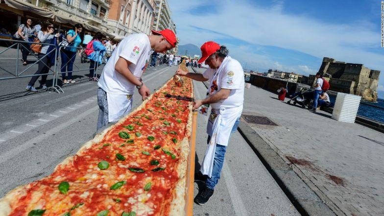 Pizza Napoli, Ý
