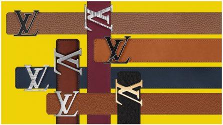 Louis Vuitton giới thiệu dịch vụ tự thiết kế dây nịt My LV Belt