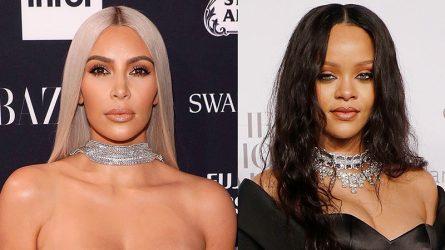 Kim Kardashian bị cáo buộc ăn cắp thiết kế của Rihanna