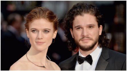 Biên niên sử chàng Jon Snow Kit Harington và nàng Ygritte Rose Leslie của Game of Thrones