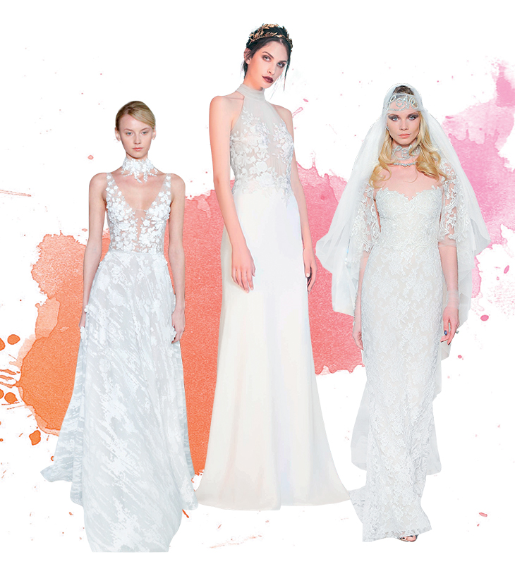 Cập nhập ngay 12 xu hướng thời trang cưới 2017 - 2018