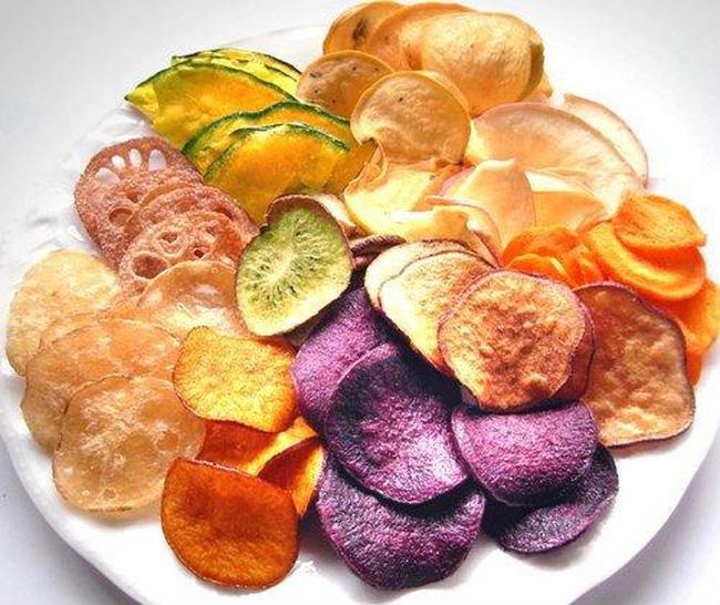 Rau củ sấy chứa nhiều vitamin