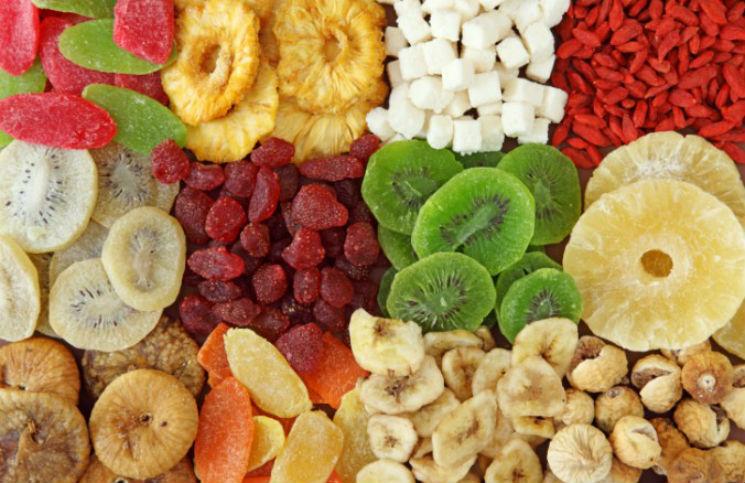 Các loại trái cây sấy