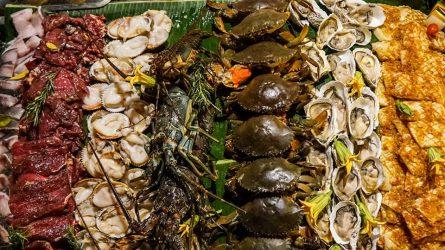 Tiệc nướng hải sản tại An Lam Retreats Saigon River