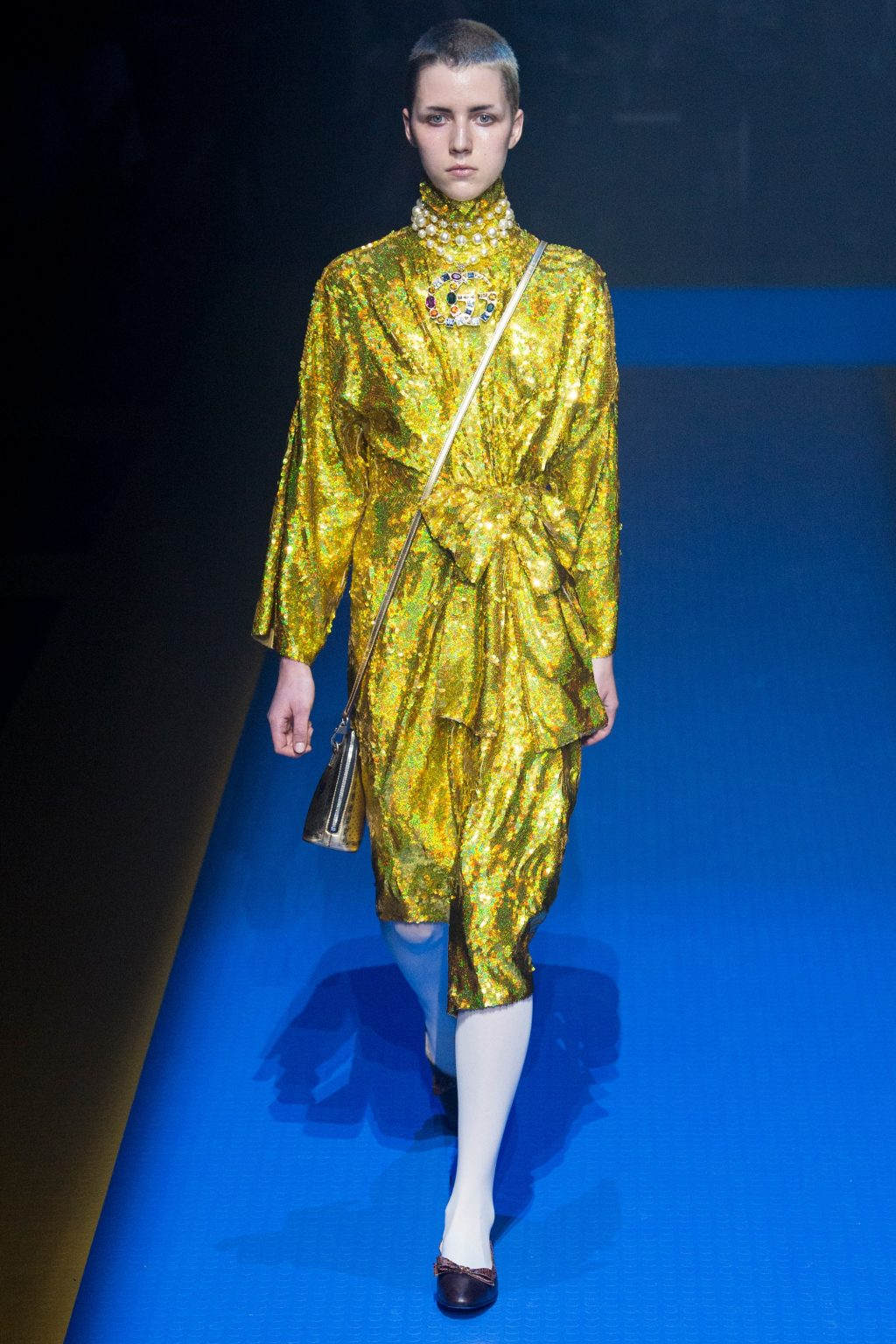 Gucci mùa Xuân 2018: Mùa xuân của Thập niên 80