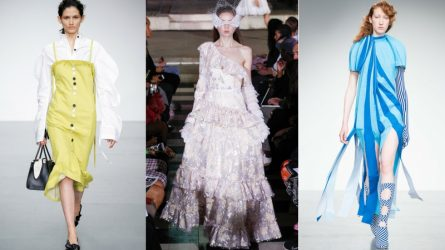 Những bộ sưu tập nổi bật trong ngày đầu tiên của London Fashion Week Spring 2018