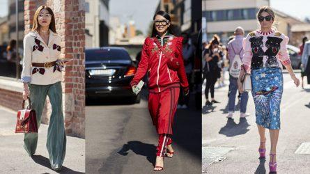 Gucci tràn ngập street style ở Milan Fashion Week Xuân-Hè 2018