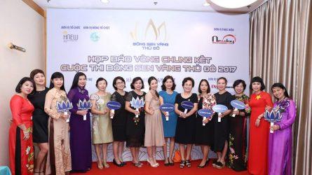 HNEW công bố Vòng chung kết Bông Sen Vàng Thủ đô 2017 và giới thiệu Bộ nhận diện thương hiệu mới