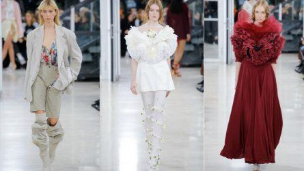 Paris Fashion Week mùa xuân 2018 Y/Project: Những cánh hoa đồng điệu cùng nhịp chân