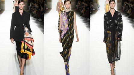 Paris Fashion Week 2018: Muôn vàn sắc xuân trong BST mới của Dries Van Noten