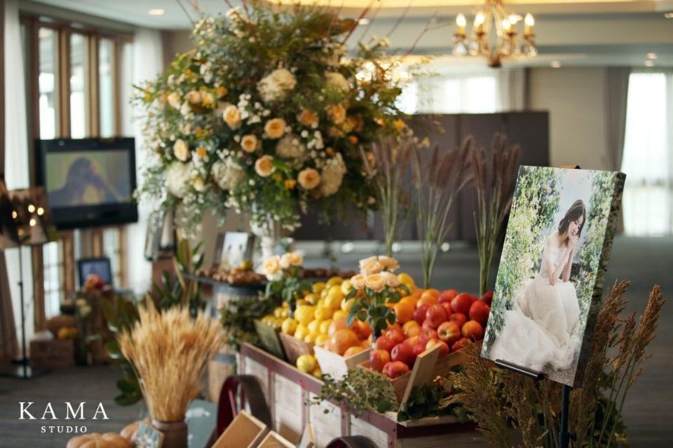 quang cảnh tiệc cưới