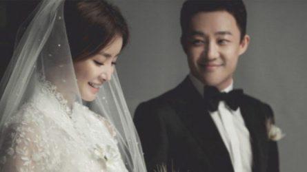 Nữ diễn viên Lee Si Young rạng rỡ trong ngày cưới