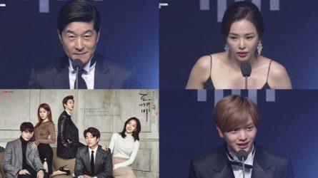 Tình Chàng Yêu Tinh thắng lớn tại giải thưởng Korean Drama Awards 2017