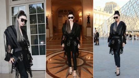 Phạm Băng Băng cực chất với mái tóc khói tại Paris Fashion Week