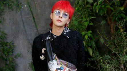 G-Dragon với phong cách thời trang độc đáo tái xuất tại show diễn Chanel