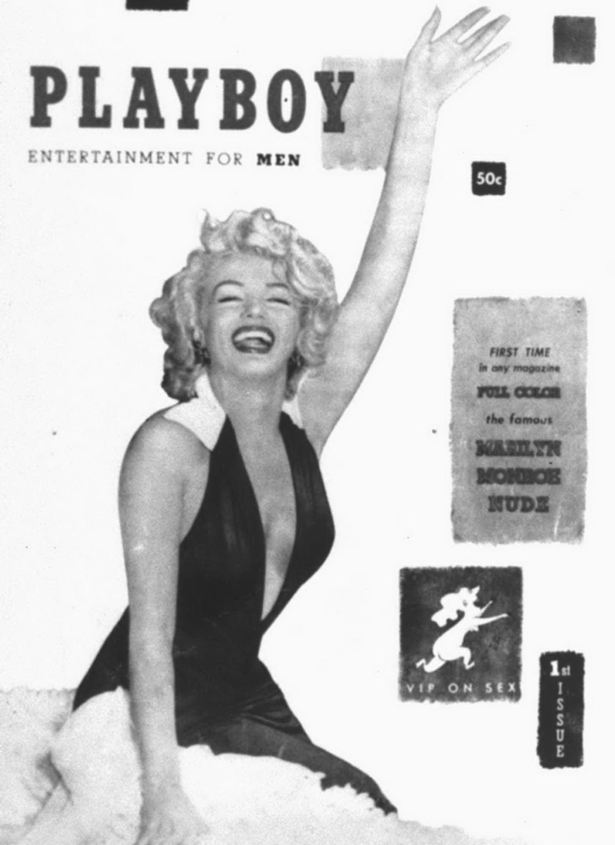 Phải công nhận rằng, chính những hình ảnh của Marilyn Monroe trên số báo đầu tiên đã khiến Playboy gây được tiếng vang lớn và nhận được sự quan tâm của công chúng