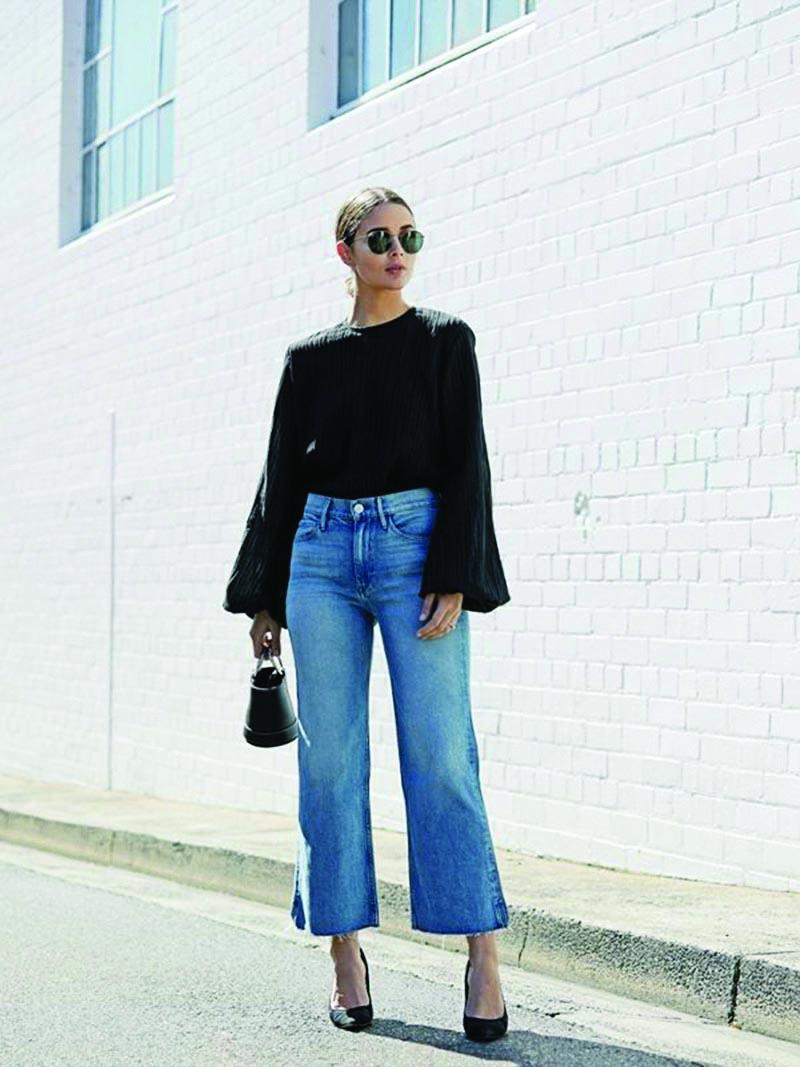 Học lỏm cách phối đồ tối giản của các blogger thời trang đình đám