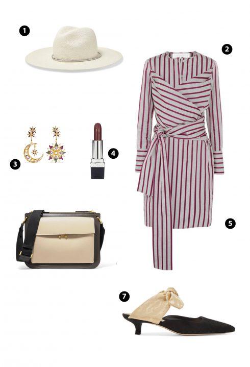 1. Topshop 2. Victoria Beckham 3. Sea 4. Dior 5.Marni 6. Zara
