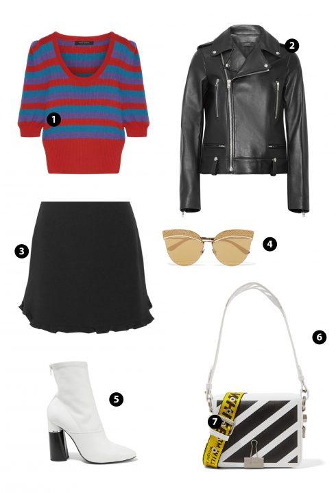 1. Marc Jacobs 2.Zara 3. Miu Miu 4. Monster 5. Fendi 6. Off-white