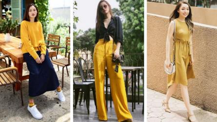 Street style sao Việt khi sang thu: Khi sắc vàng ấm áp lên ngôi