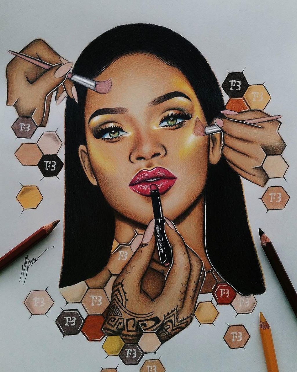 Rihanna ra mắt Galaxy Collection khiến cộng đồng làm đẹp chao đảo trong mùa Halloween