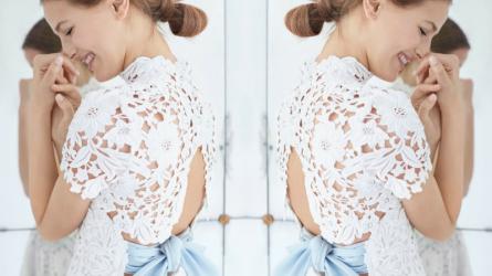 BST váy cưới Thu 2018 Carolina Herrera: Sự cũ kỹ hoàn hảo