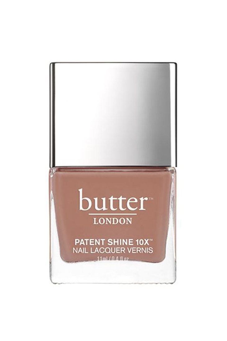 Butter Patent Shine Nail Lacquer màu Tea Time ($18)