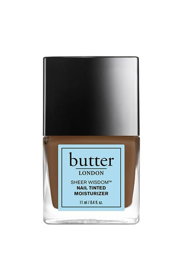 Butter London Sheer Wisdom Nail Tinted Moisturizer màu Deep ($18)