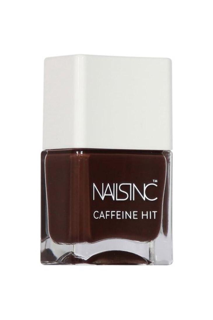 Nail Inc. Caffeine Hit Nail Polish Collection màu Espresso Martini ($11)
