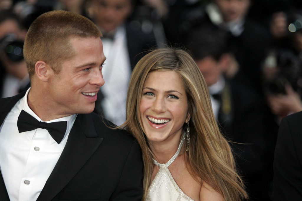 Brad Pitt và Jennifer Aniston
