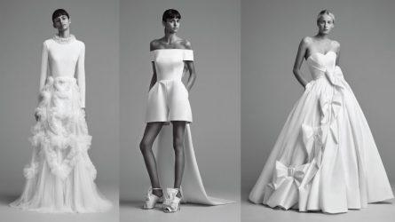 BST váy cưới Thu 2018 Viktor & Rolf: Vẻ đẹp thuần túy