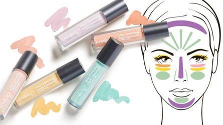 Sử dụng che khuyết điểm hiệu chỉnh màu da sao cho đúng?