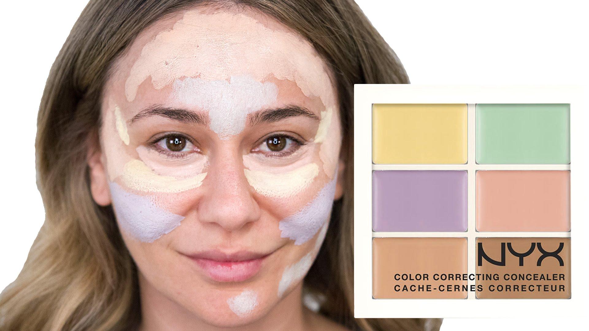Sử dụng bảng che khuyết điểm hiệu chỉnh màu da sao cho đúng?