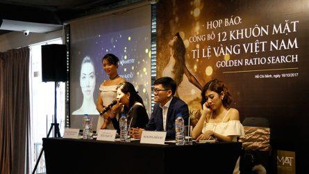 Họp báo công bố Top 12 gương mặt Tỉ Lệ Vàng Việt Nam