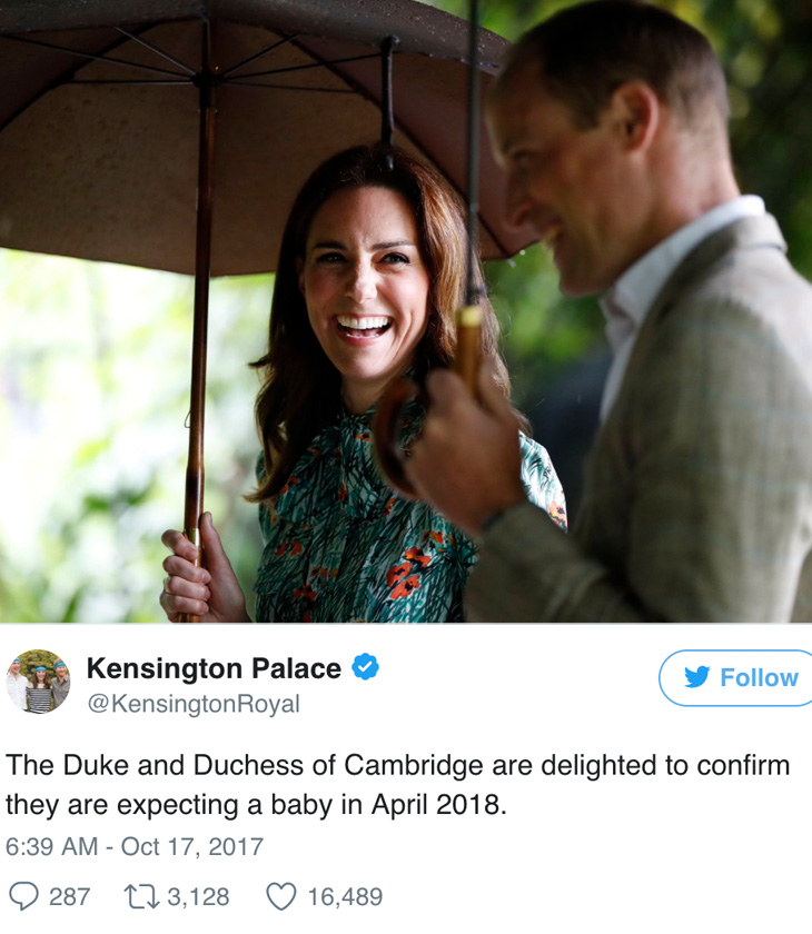 công nương Kate