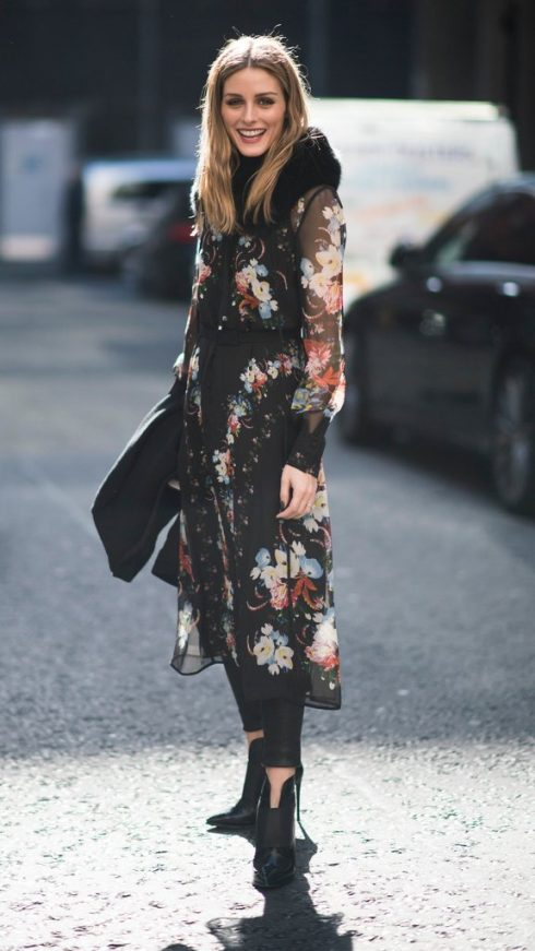 ELLE Style Calendar: Váy hoa thanh lịch cho mùa thu