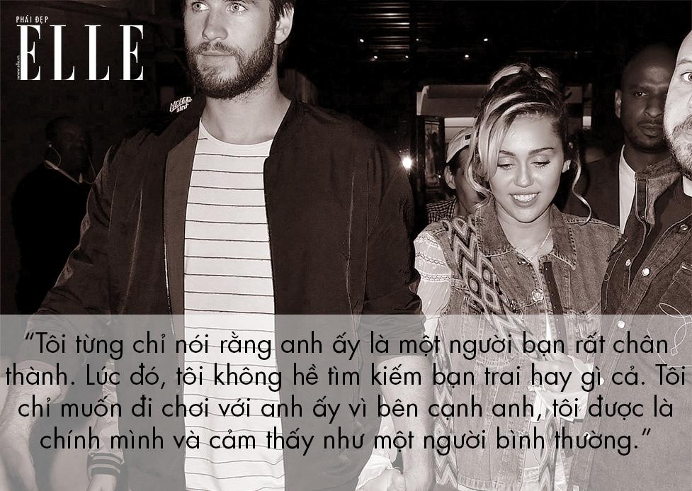 """Miley Cyrus và 12 lời """"thú tội"""" ngọt ngào dành cho người tình Liam Hemsworth"""