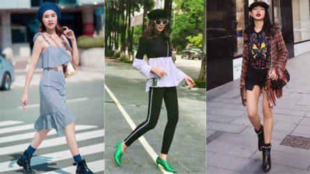 Mũ nồi kiểu Pháp - phụ kiện không thể thiếu trong street style tháng 10 của sao Việt
