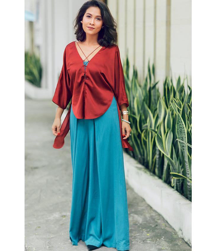 Kiều Linh - Sống xanh với thời trang