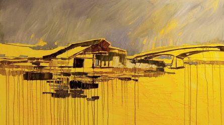 """Khi 2 nữ họa sĩ vẽ tranh cùng nhau: Nghệ thuật là """"Nhà"""""""