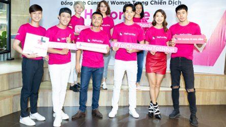 Nghệ sĩ Việt đồng hành cùng UN Women trong chiến dịch: