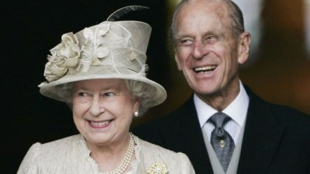 Nữ hoàng Elizabeth và Hoàng thân Philip kỷ niệm 70 năm ngày cưới