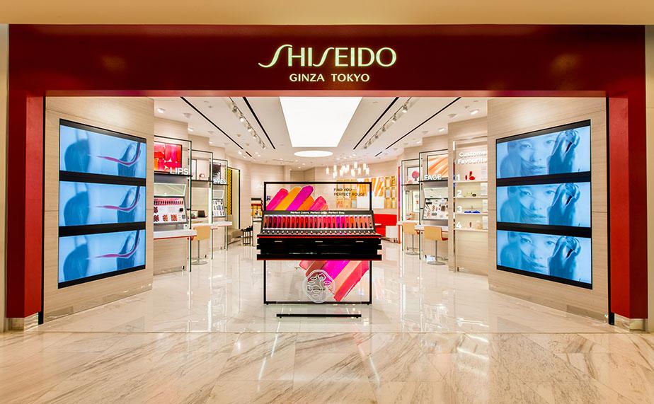 Cửa hàng mới của Shiseido